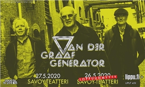 Link to event Van Der Graaf Generator – CONCERT RESCHEDULED -> Sat 7.11.2020