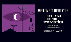 Link to event Welcome to Night Vale (US) – Maailman luokan podcast livenä